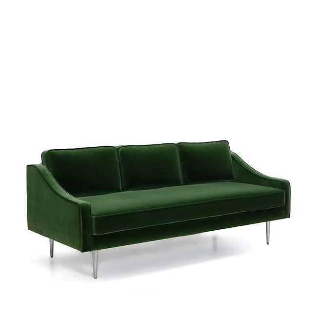 1000 id es sur le th me canap vert sur pinterest sofa for Canape velours vert