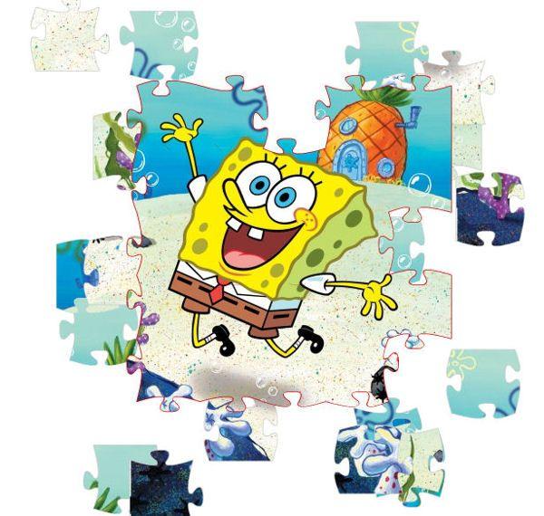 Puzzle de Bob Esponja para niños
