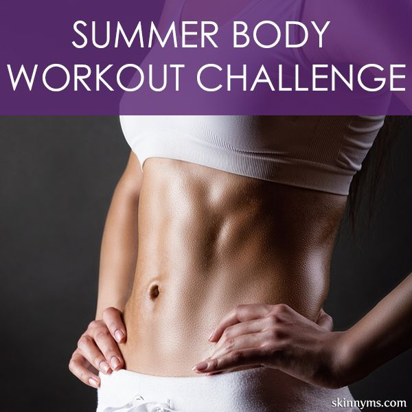 Commit to getting fit with our summer workout. Greet the summer months with a strong and lean body. Let's do this! #workouts