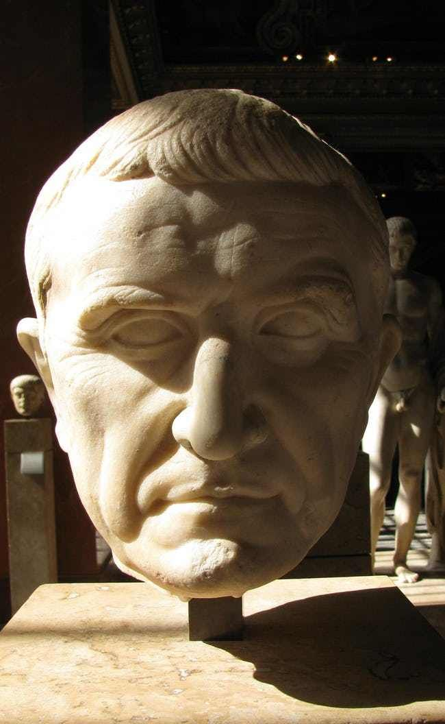 Marcus Licinius Crassus is listed (or ranked) 3 on the list The Most Bizarre Deaths in the Ancient World