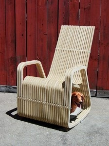 Amazing Unique Rocking Chair Designed For Pet Owners U2013 Rocking 2gether Chair Photo
