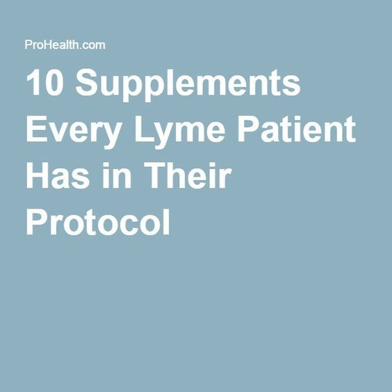 Natural Treatment Protocol For Lyme Disease