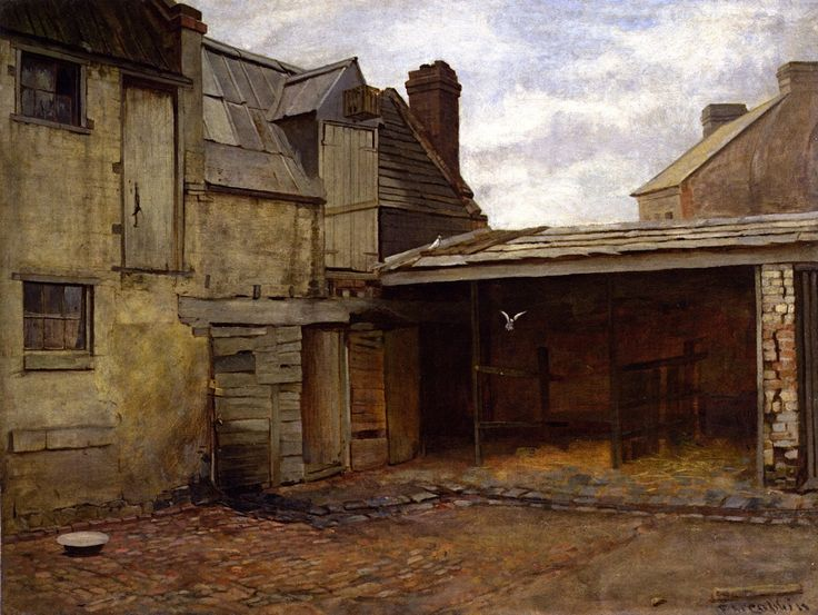 Old Stables Frederick McCubbin - 1884
