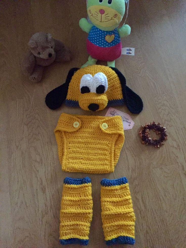 Pluto baby photoshoot,costum sedinta foto pt bebe