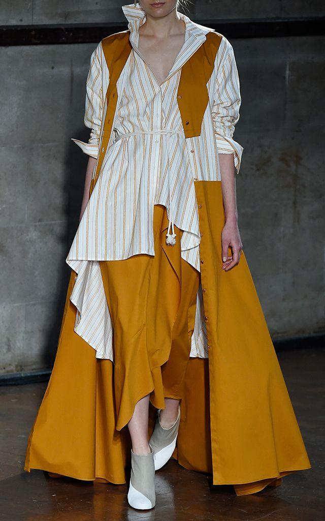 Manon Maxi Tie Dress by PALMER//HARDING for Preorder on Moda Operandi