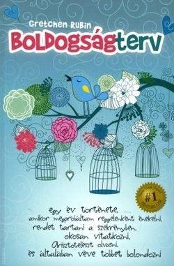 Gretchen Rubin-Boldogságterv (Új példány, megvásárolható, de nem kölcsönözhető!)