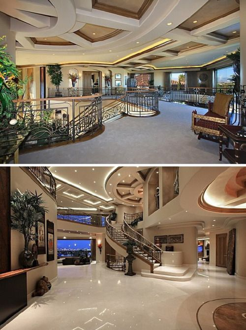 MY dream house looks like this inside. And I shall call my husband Tony Stark because that's about the only way we'd have a place that nice.