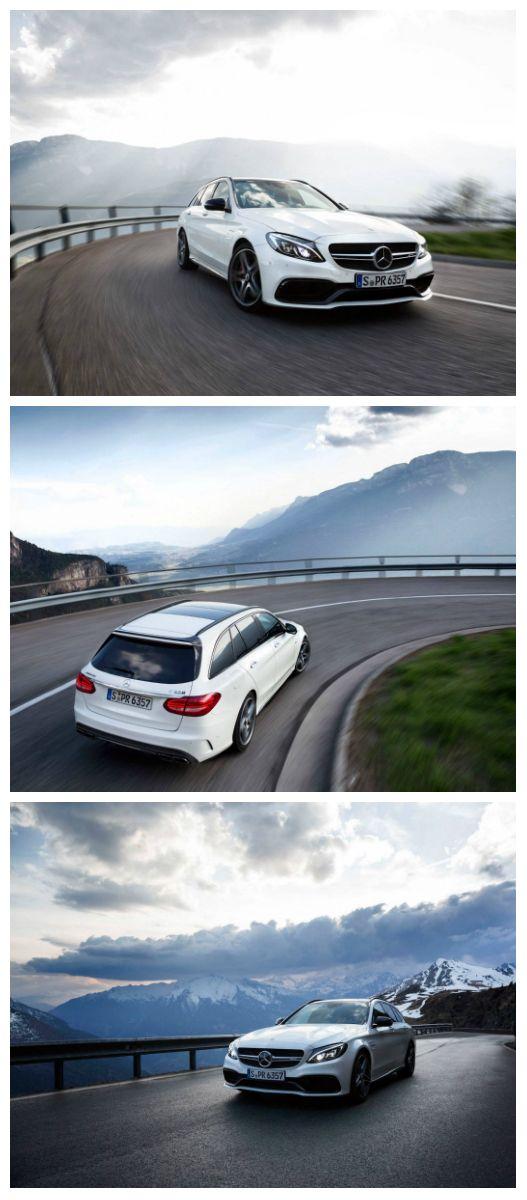 Bjergets konge – Mercedes-AMG C 63 stationcar. #MBPhotoCredit: Igor Dolce
