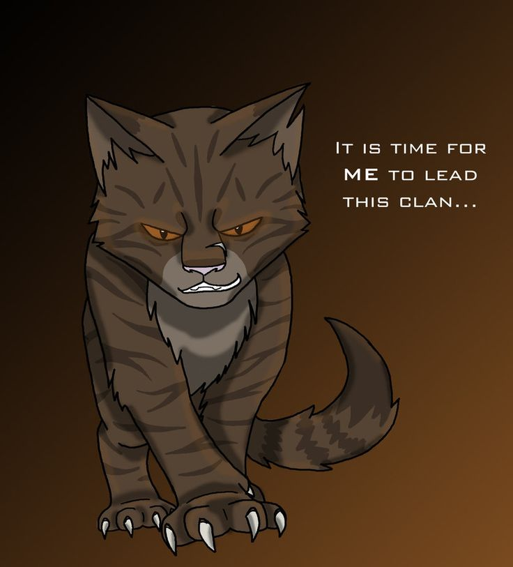 Warriors Cats Into The Wild Movie: Tigerclaw Quote - Warrior Cats