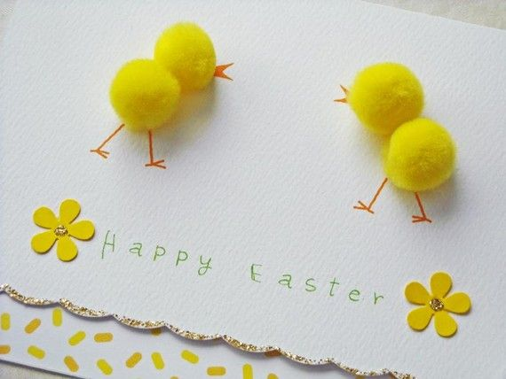 chick easter card♥