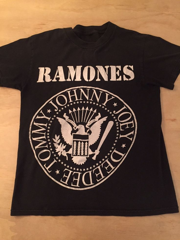 The RAMONES T shirt by GreaseandGlory on Etsy