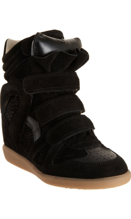 Unas zapatillas con taco escondido: Wedge Sneakers