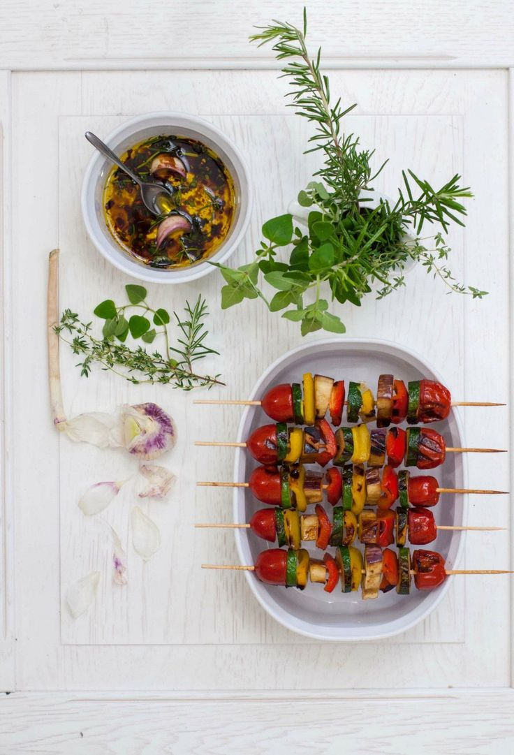 spiedini verdure grigliati