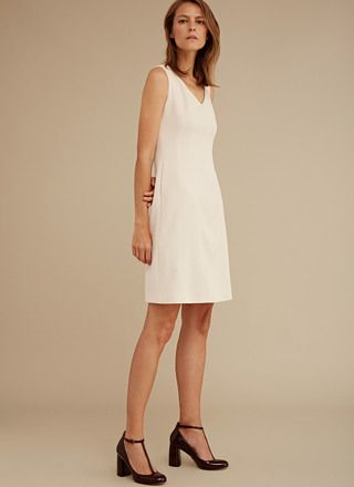 Flared Dress with Pockets - Collection | Adolfo Dominguez shop online