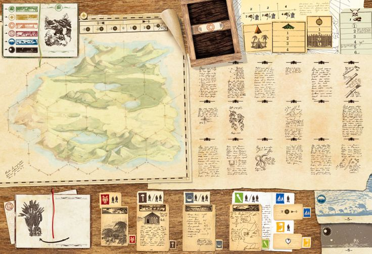 One of the best co-op board game I've played. Robinson Crusoe: Adventure on the Cursed Island