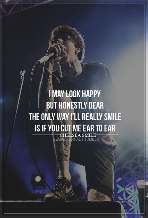bring me the horizon #lyrics