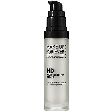 Makeup Forever HD Primer is the BEST face primer! it smells so fresh and clean and keeps my makeup looking fresh and smooth all day!