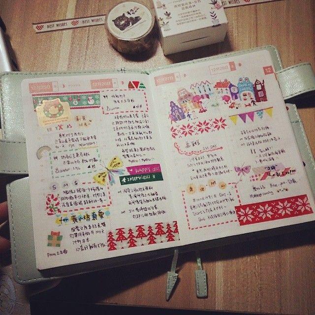 Hobonichi planner