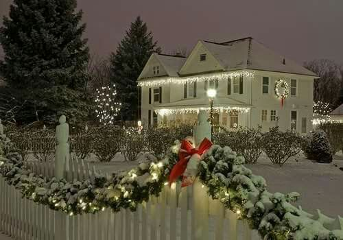Christmas Decorations At Haskins : Images about a new england christmas on