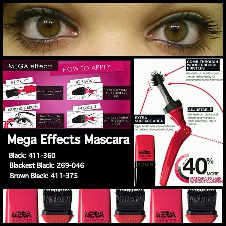Mega effects mascara visit www.youravon.com/tcorder