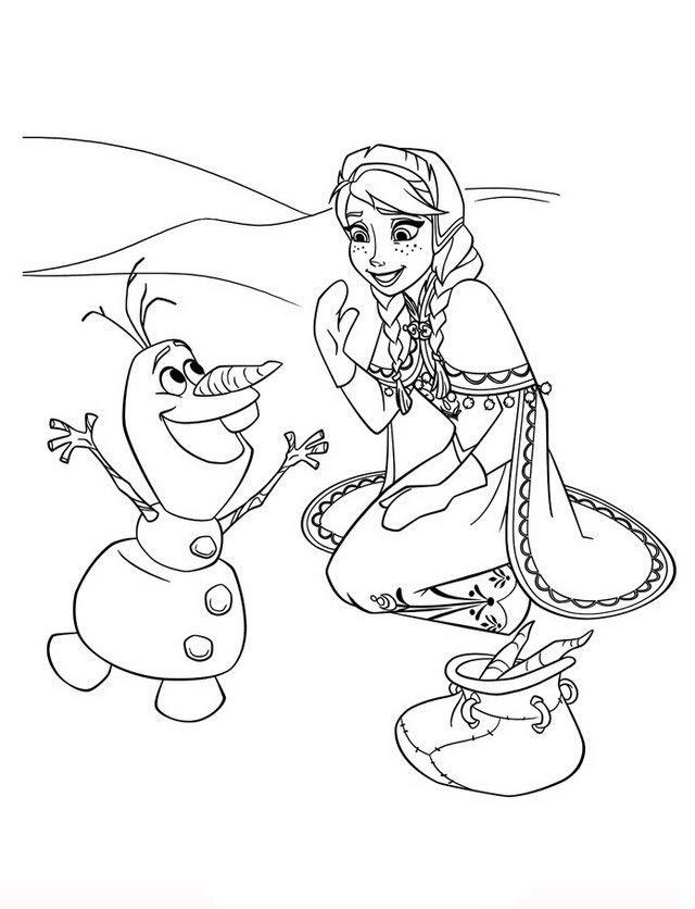 Frozen 54 Dibujos Faciles Para Dibujar Para Ninos Colorear Coloring Pages Frozen Coloring Frozen Coloring Pages
