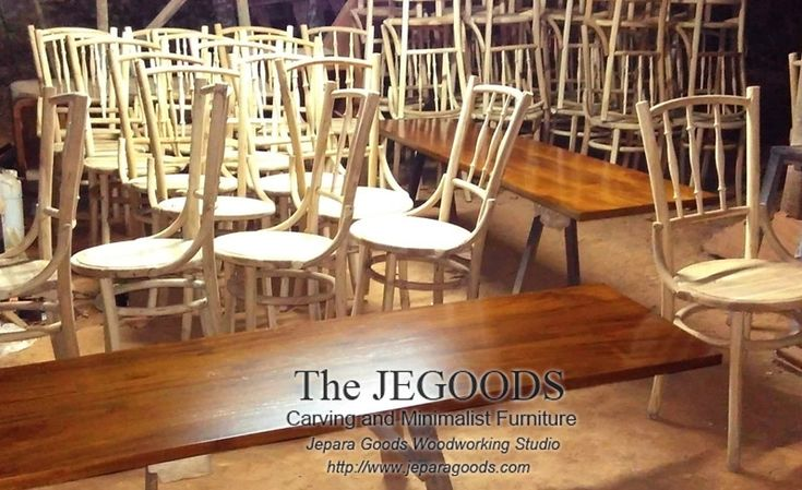 Production and manufacturing of mid century Kopitiam chairs by Jepara Goods Woodworking Studio Indonesia.  Best traditional #handmade construction with high quality at affordable price #retrochair #vintagechair #kursicafe #furniturefactory #furniturewarehouse #teakchair #indonesiafurniture