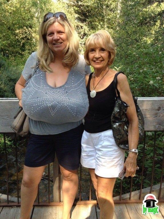Tall Women Huge Boobs