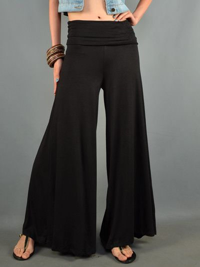 Solid Palazzo Pants from Gypsy Outfitters - Boho Luxe Boutique