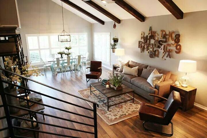 The magnolia mom joanna gaines living rooms pinterest for Does the furniture stay on fixer upper