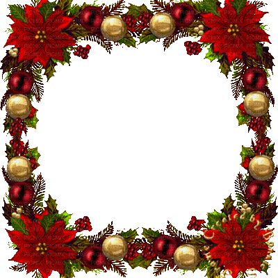 christmas frame animated