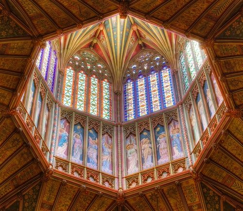 Octagon at Ely Cathedral, Cambridgeshire  by Mark Heath