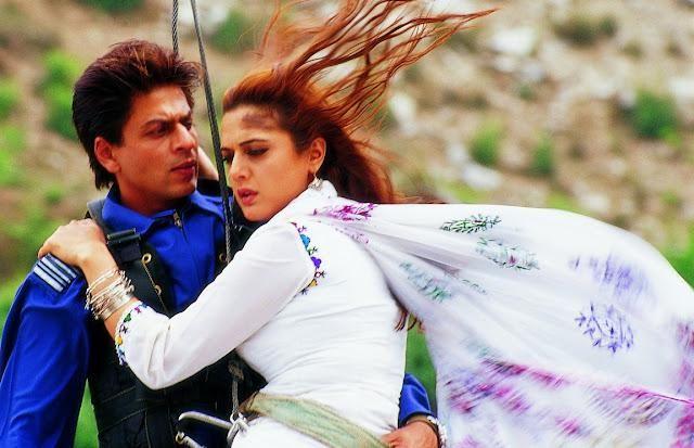 Shahrukh Khan and Preity Zinta - Veer-Zaara (2004)