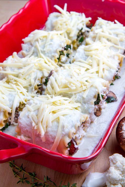 ... Mushroom Lasagna, Lasagna Rolls, Bad Mushrooms Lasagna, Closet Cooking