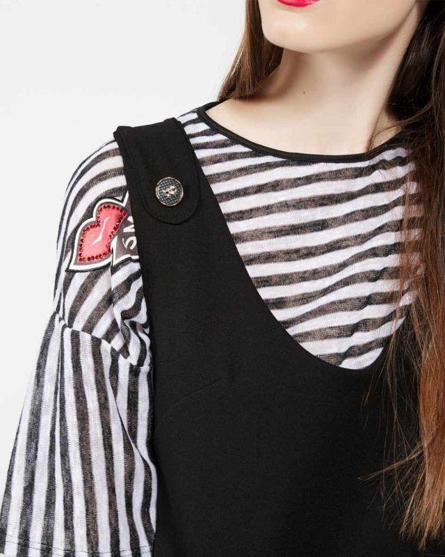 #PINAFORE #DRESS #redlips