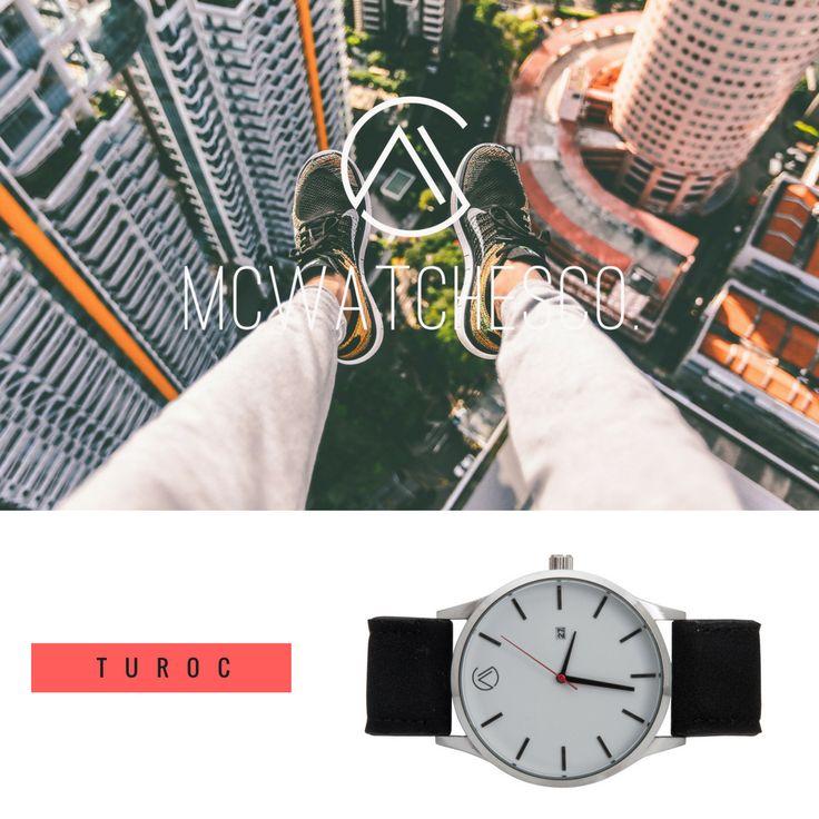 Siente el mundo en tus manos, MCWATCHESCO. más que una marca, joven que sus comienzos, se estan dando a conocer por el catálogo de relojes diferentes tanto para hombre como para mujer. En esta caso vemos unos de los modelos de MCWATCHESCO., Turoc.