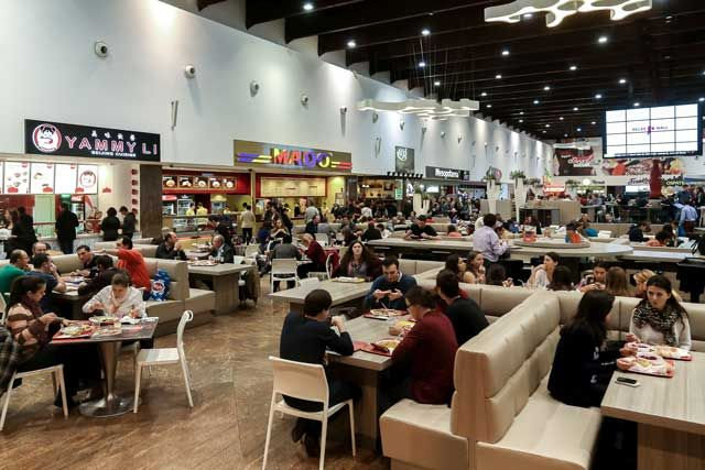 Food Court Palas se extinde