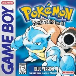 The game that started it all for me!! My very first pokemon game EVER! Pokemon Blue version