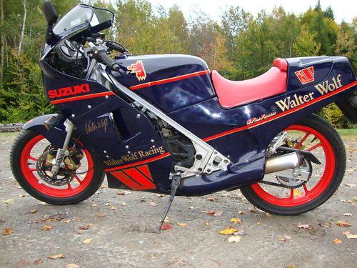 Walter Wolf edition Suzuki RG250