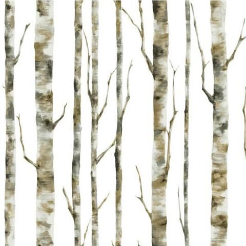 Eco chic wallpaper birch trees - woollahra council australia day pictures
