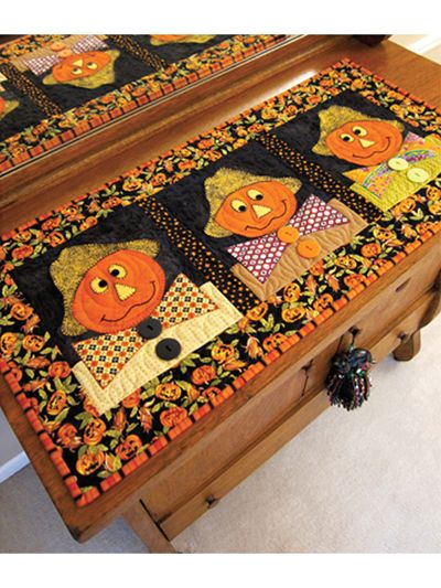 pumpkin quilt pattern to make for fall quilting patterns table rh pinterest com