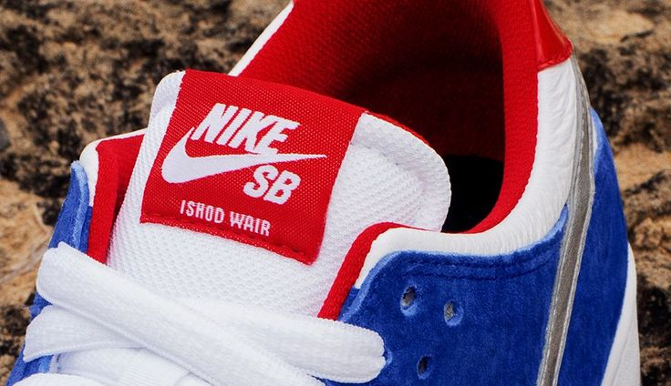 Nike SB Dunk Low Pro Ishod Wair QS 5 Nike SB Dunk Low Pro Ishod Wair QS Blue, Red & Metallic eukicks