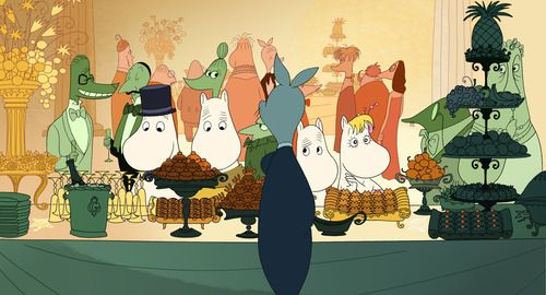 Moomins on the Riviera :)