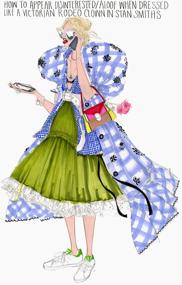 NYFW: Illustration by Julie Houts for Stylebop