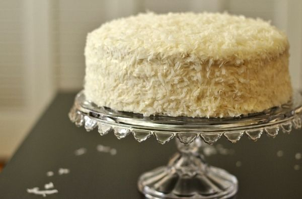 Coconut Layer Cake | Coconut | Pinterest | Layer Cakes, Coconut and ...