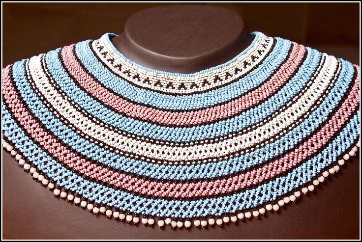 Mfengu beadwork collar (c) MAXHOSA BY LADUMA