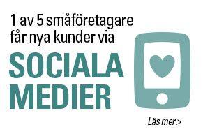 Undersökning: Sociala medier ger företagare fler kunder