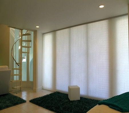 function meets style with these simple yet elegant cellular shades from budget blinds signature series