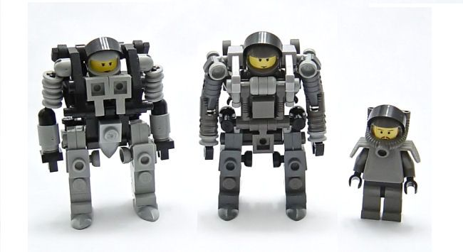 Robots for Minifigs / The Brothers Brick | LEGO Blog | Archive for 2006 January