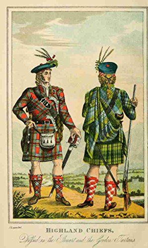 A4 Photo Logan James 1794 1872 The Scottish Gae¨l 1876 Highland Chiefs Print Poster Libby's Emporium http://www.amazon.co.uk/dp/B00UC37L02/ref=cm_sw_r_pi_dp_I1anvb1SBYPCT