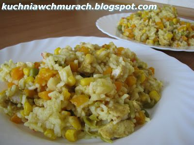 marchewkowe risotto na parze